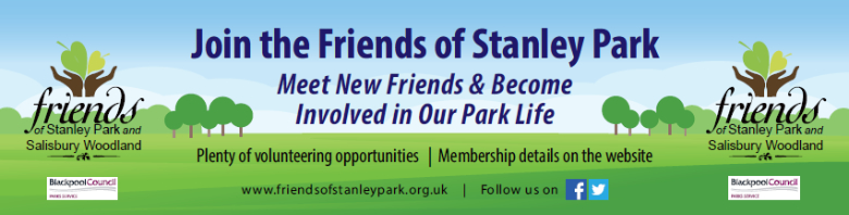 Join the Friends of Stanley Park Blackpool