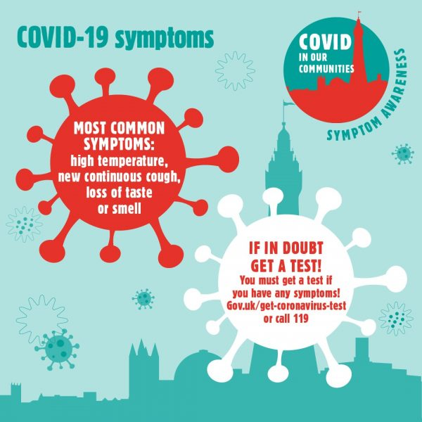Covid19 Symptoms, if you have them get a test